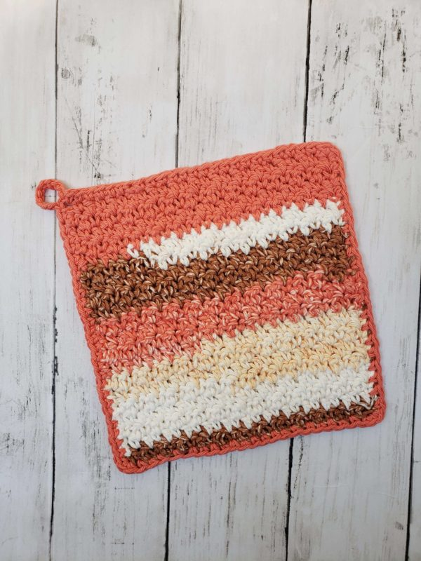 farmhouse dishcloth pink