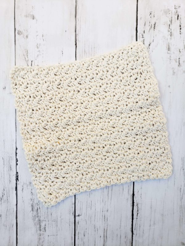 Farmhouse Dishcloth cream