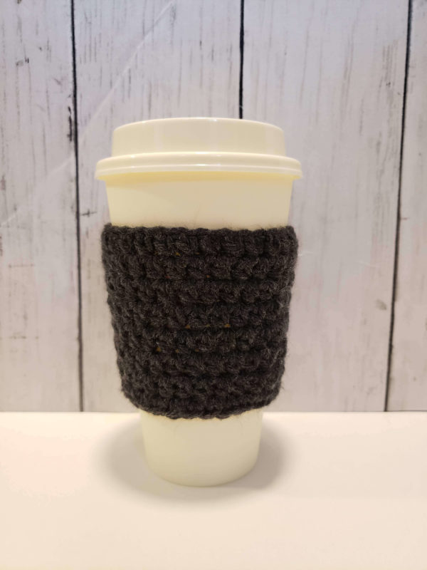 Heather Grey Coffee Cup Cozy