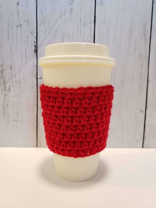 Red Coffee Cup Cozy