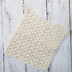 Farmhouse Dishcloth Oatmeal