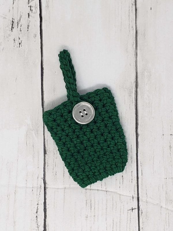 Green Hand Sanitizer Holder