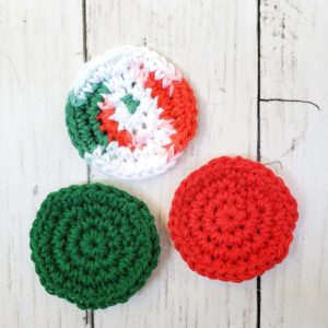 Reusable Facial Pads - Christmas
