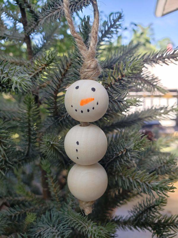 Plain Snowman